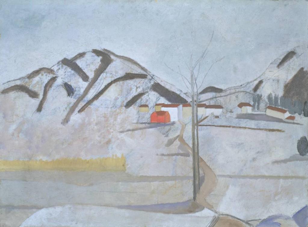 1921 - circa 1923 (Cortivallo, Lugano) 1921-circa 1923 by Ben Nicholson OM 1894-1982